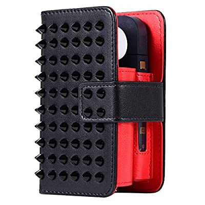 NO1ACCESSORY 5IN1 iQOS Case Electronic Cigarette Protective Holder Cigar Cover iQOS Pu leather Case Electronic Cigarette PU Leather Carrying Case by No1accessory