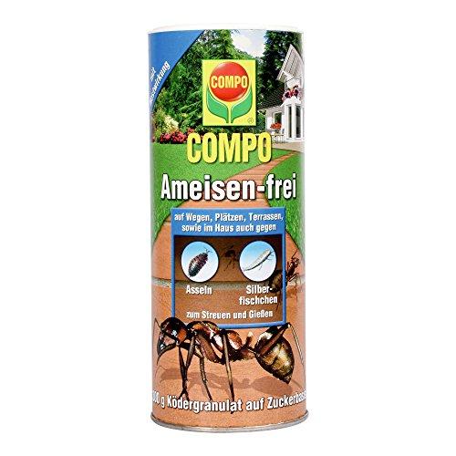 COMPO Ameisen-frei, Staubfreies Ködergranulat mit Nestwirkung, 300 g - Gift-behandlung
