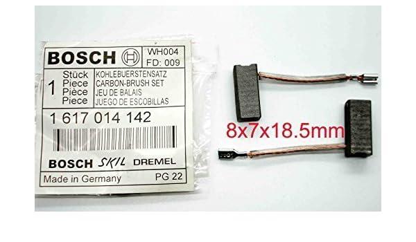 24V GSB /& GSR DRILLS BS9 18V BOSCH PATTERN CARBON BRUSH SET 14.4V 36V