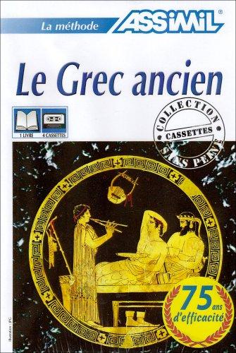 Le Grec ancien (1 livre + coffret de 4 cassettes)