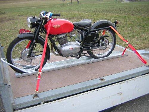 Motorradschiene Standschiene Motorrad Anhänger