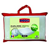Dodo Vegetal Oreiller Uni Ergonomique Mousse à mémoire de forme  Blanc 40x 60cm