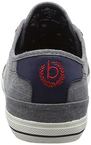 Bugatti F48036, Sneakers Basses homme Bleu (Jeans 455)