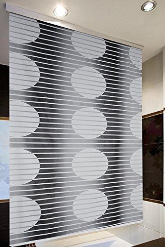 Halb-Kassetten Duschrollo 140 cm breit Modell Loca