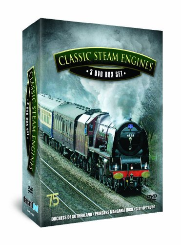 Classic Steam Engines Triple Pack [DVD] [UK Import]