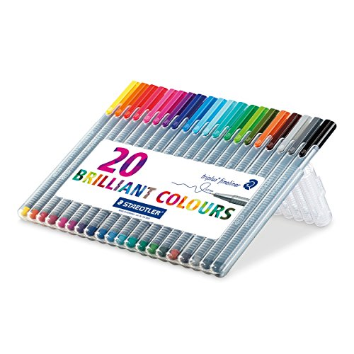 staedtler-334-triplus-fineliner-superfine-point-pens-03-mm-assorted-colours-pack-of-20