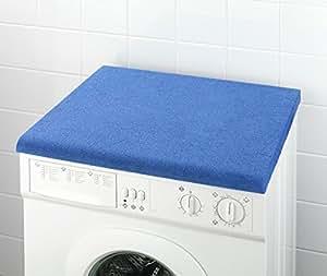 wenko tissu de protection pour machine 224 laver bleu roi fr cuisine maison