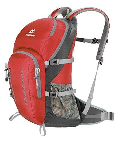 Männliche und weibliche Mehrzweck outdoor wasserdichte Rucksack Tasche Wandern Sport im freien Schultertaschen 40 L Red