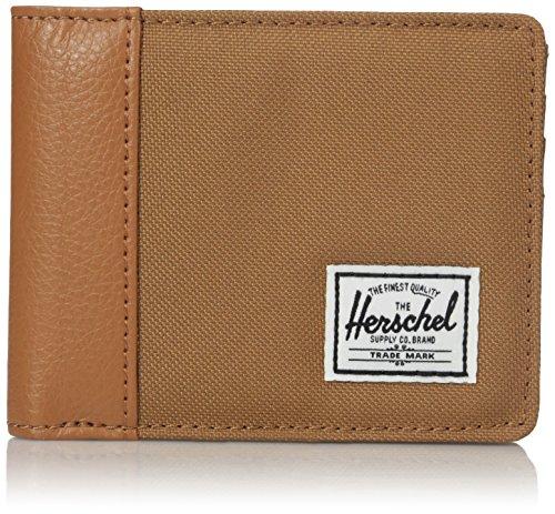 Herschel Edward Wallet Caramel/Tan Pebbled Leather None