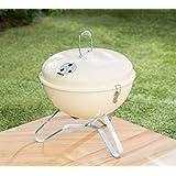 Couleur crème Bistro Portable Comprend pour barbecue avec poignée