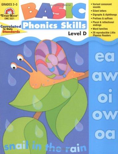 Basic Phonics Skills, Level D: EMC 3321
