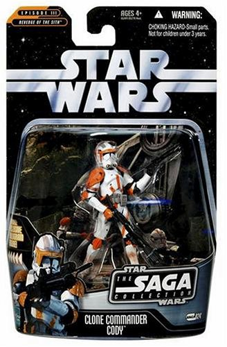 Clone Commander Cody Battle of Utapau TSC024 - Star Wars The Saga Collection 2006 (Wars Cody Star)