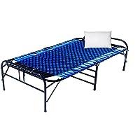 CASSAFLIP Folding Single Bed for Kids Student Single Metal Bed Frame Single Size with Unique Design Sturdy Metal Frame…