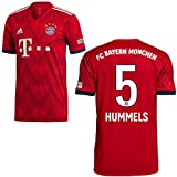 adidas FCB Heimtrikot 2018 2019 Kinder Hummels 5 Gr 128
