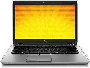 HP EliteBook 840 G1 i5- 4200U, 1,6 Ghz CPU, 8 GB RAM 14 Zoll, 1600x900 Pixel Auflösung,250 GB SSD, Hintergrund-Beleuchtete Tastatur, Windows 10 Professional (Zertifiziert und Generalüberholt)
