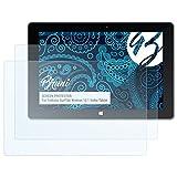 Bruni Schutzfolie kompatibel mit Trekstor SurfTab Wintron 10.1 Volks-Tablet Folie, glasklare Bildschirmschutzfolie (2X)