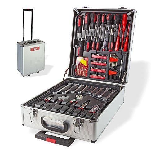 DEMA Werkzeugkoffer-Trolley 251-tlg