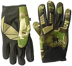 Under Armor Men's Speed Freek Wool Gloves, Ridge Reaper Camo Focannon, Large