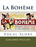 La Boheme - vocal score (Italian and English): Ricordi edition