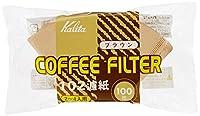 KALITA Brown 100 sheets filter paper coffee filter 102