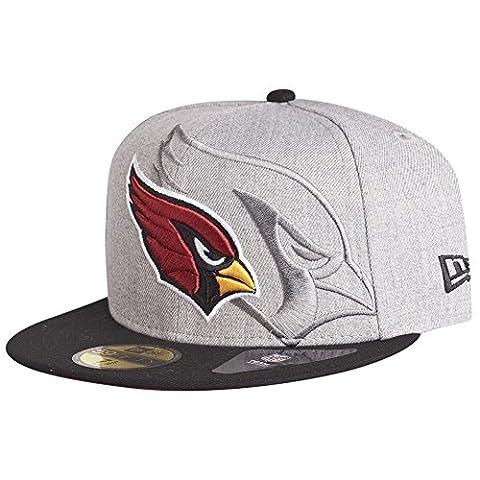 New Era 59Fifty Cap - SCREENING NFL Arizona Cardinals gris