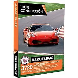 DAKOTABOX - Caja Regalo - 100% CONDUCCIÓN - 3720 experiencias de conducción con Ferrari, Porsche, Lamborghini y muchos más