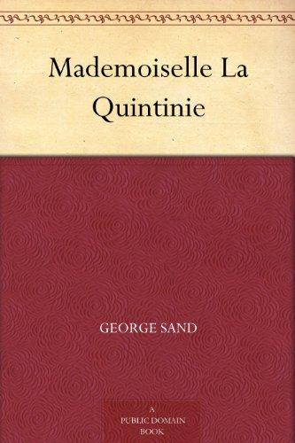 Couverture du livre Mademoiselle La Quintinie