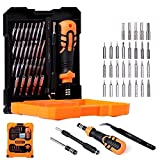 Jakemy Premium Screwdriver Set, Magnetic Driver Kit, Professional Electronics Repair Tool Kit, 33 in 1 mit 29 Bits Precision Screwdriver Kit