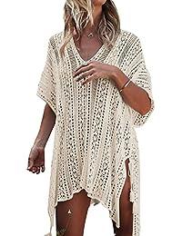 Tuopuda Mujer Pareos Playa Traje de Baño Vestido de la Playa Bikini Cover up Camisola de