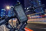 Handyhalterung fahrrad, fahrradhalterung mit wasserdichtes gehäuse mit zugang zum schirm-noten, sicherheitssystem antigefallen exklusiv, handyhalter fahrrad, Universal Fahrrad Handyhalterung, Motorrad Handyhalterung, Handyhalterung Fahrrad Smartphone, handyhalterung motorrad, universell für alle Arten von Lenker und Handys mit einem maximalen Bildschirmgröße von bis zu 5,5