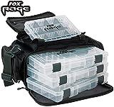 Fox Rage Lure & Tackle bag 43x24x41cm - Kunstködertasche für Raubfischköder, Angeltasche für...