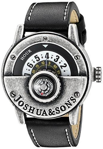 Joshua & Sons Herren-Armbanduhr Man Analog Quarz JX116SSB