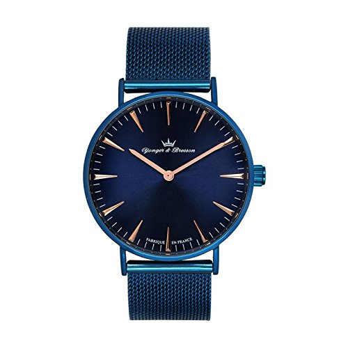 Reloj Yonger & Bresson hombre Azul–hmbl 075/grm