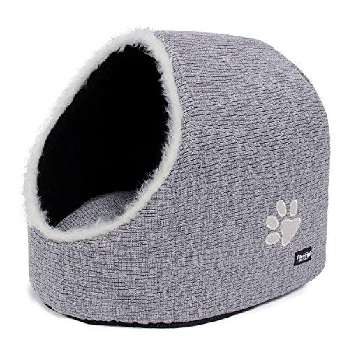 *Katzenhöhle PetPäl | DIE Perfekte Kuschelhöhle für Hund & Katze | Ideale Korb Höhle für Drinnen | Bestens als Katzenkorb, Katzenbettchen zum Schlafen | Auch für Große Katzen*