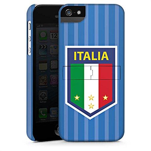 Apple iPhone X Silikon Hülle Case Schutzhülle Italien EM Trikot Fußball Europameisterschaft Premium Case StandUp