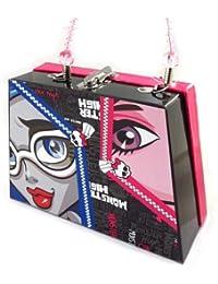 Monster High [K2337] - Valisette sac à main 'Monster High' noir rose