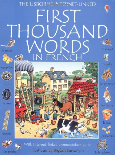 First 1000 words french