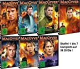 MacGyver - Staffel 1-7 im Set - Deutsche Originalware [38 DVDs]