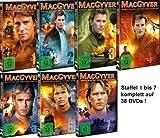 MacGyver - Staffel 1-7 im Set - Deutsche Originalware [38 DVDs]