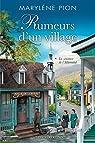 Rumeurs d'un village T.1: La sentence de l'Allemand par Pion