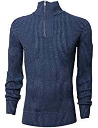 Crosshatch - Pull - Manches Longues - Homme gris gris Small