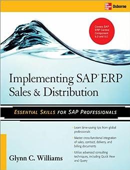 Implementing SAP ERP Sales & Distribution par [Williams, Glynn C.]