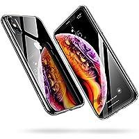 """ESR Funda iPhone XS MAX, Funda Suave TPU Gel Ultra Fina Protección a Bordes y Cámara Compatible con Carga Inalámbrica Enjaca Compatible para Apple iPhone XS MAX de 6.5""""-Transparente"""