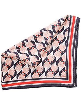 HUGO Bedrucktes Tuch aus Habotai-Seide Women-Z 543 50370052 Damen