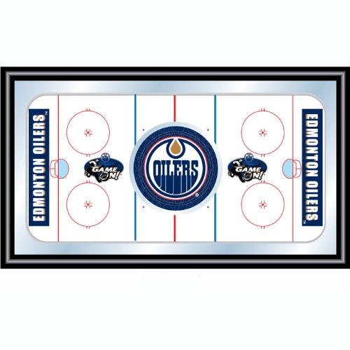 NHL Edmonton Oilers gerahmt Hockey Rink Spiegel (Hockey Rink)