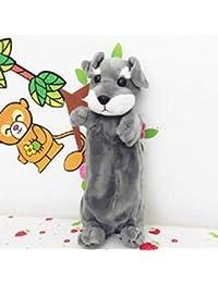 Reixus (TM) Super Cute Shape chien en peluche Jouets en peluche Sacs meilleur cadeau pour les enfants Couleur 3 Animaux en peluche disponibles