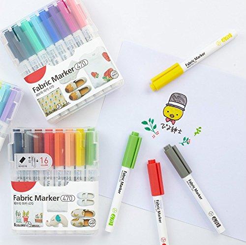 Heelinna Sinnvoll Einfacher Stift Körper Bullet Tip Board Marker Pen - Lila (12 Stück)