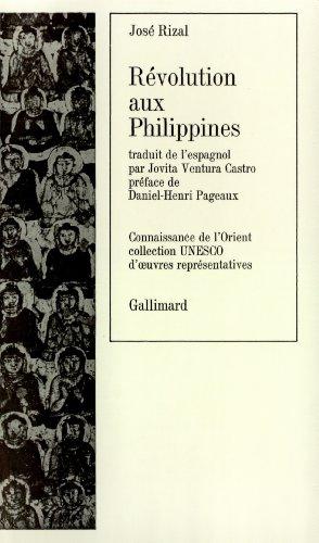Révolution aux Philippines par José Rizal
