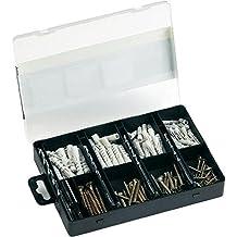 Bosch 2607019511 - Pack de 173 unidades para fijación, color negro