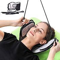 AHUO Head Hammock - Dispositivo Portátil De Tracción Cervical para Aliviar El Dolor De Cuello - Relajante Muscular del Hombro En Casa para Calmar El Masajeador De Cuello